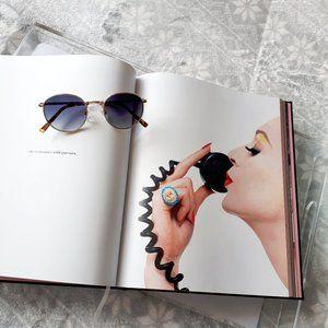 NWOT Diffs Brooks gold & grey blue lens sunglasses